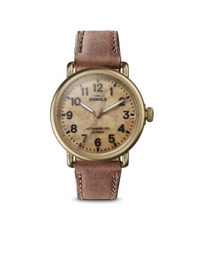Shinola Runwell 41mm Petoskey Watch