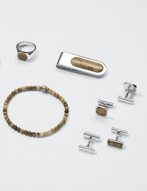 Assortment of Men's Shinola Petoskey jewelry