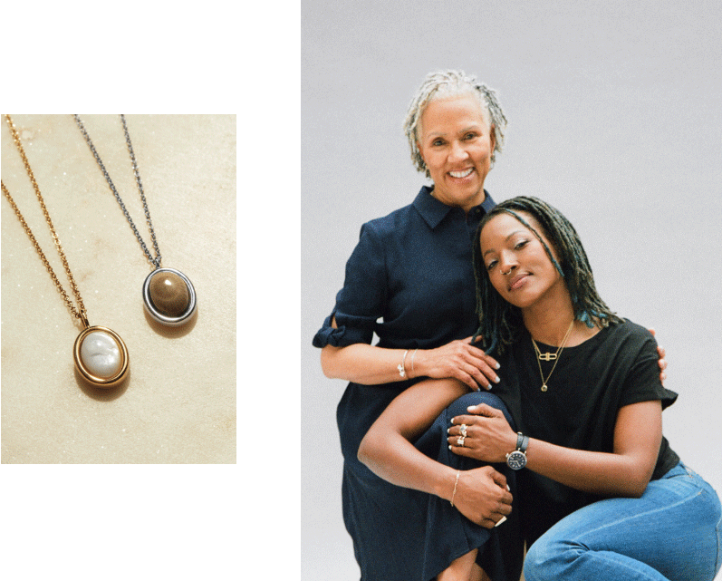 Shinola Petoskey Gemstones Collection / Mother with her daughter