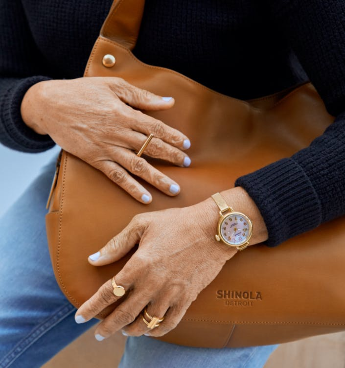 Collection of Shinola products