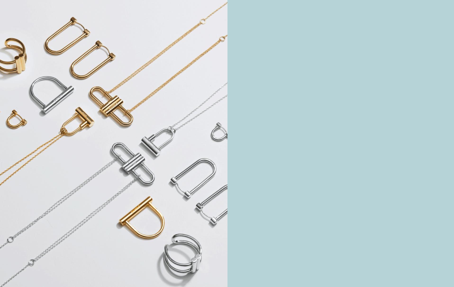 Shinola bike lock jewelry collection