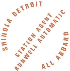 Shinola Detroit Station Agent Runwell Automatic All Aboard