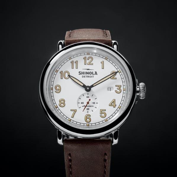 Shinola Detroit Station Agent Runwell Automatic Watch