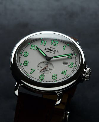 Station Agent Watch Dial