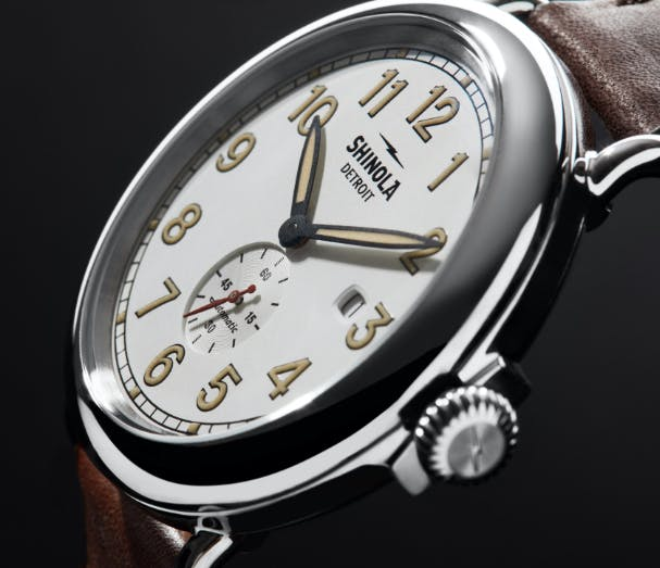 Station Agent Watch crown