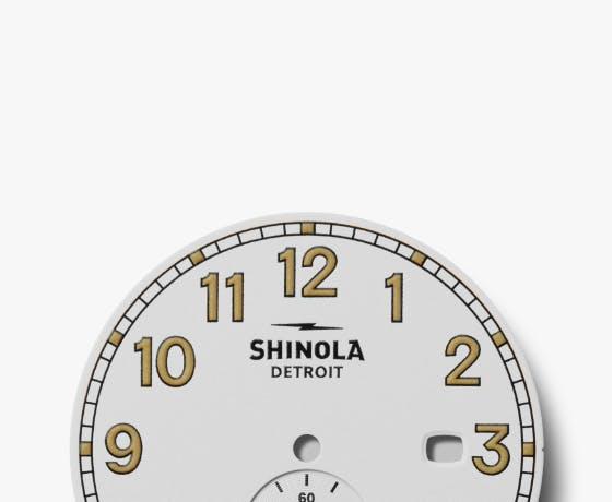 Shinola Station Agent Dial