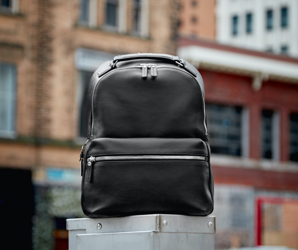 Black Shinola backpack
