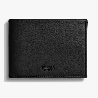 Slim Bifold Wallet - Black
