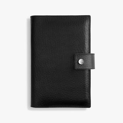 Medium Journal/ iPad Mini Cover w/ Tab - Black