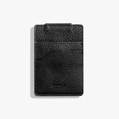 Magnetic Money Clip Card Wallet - Black