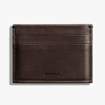 Five Pocket Card Case - Deep Brown
