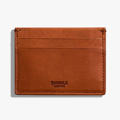 Five Pocket Card Case - Bourbon