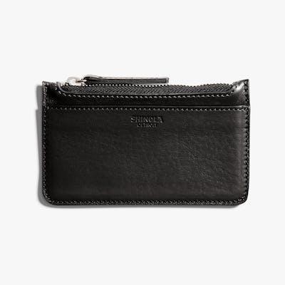 Coin/Card Pouch - Black