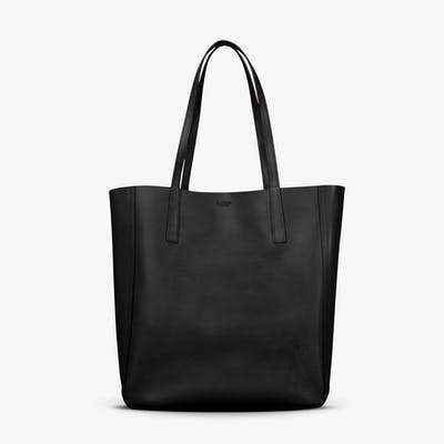 Medium Shopper Tote - Black