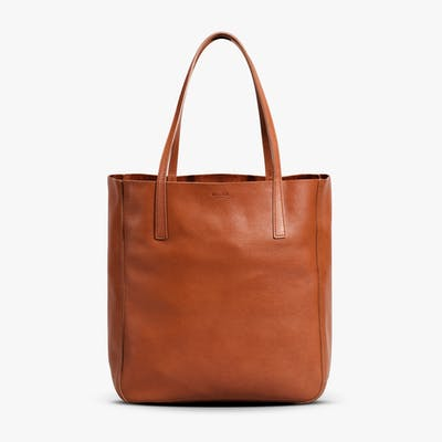 Medium Shopper Tote - Bourbon