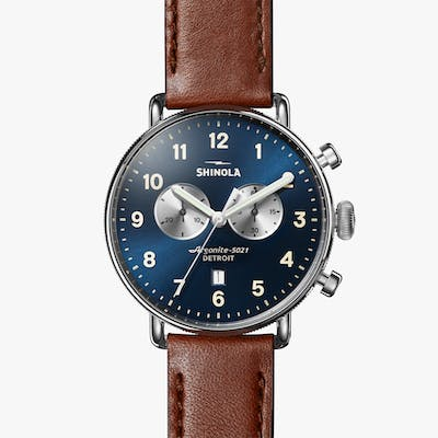 THE CANFIELD CHRONO WATCH 43mm