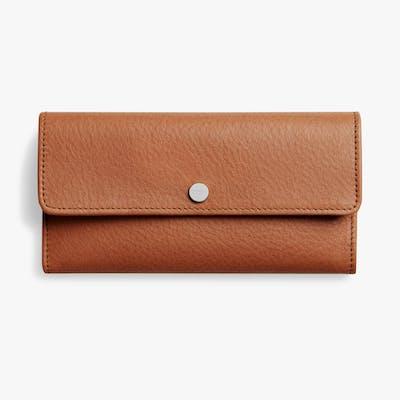 Continental Wallet - Bourbon
