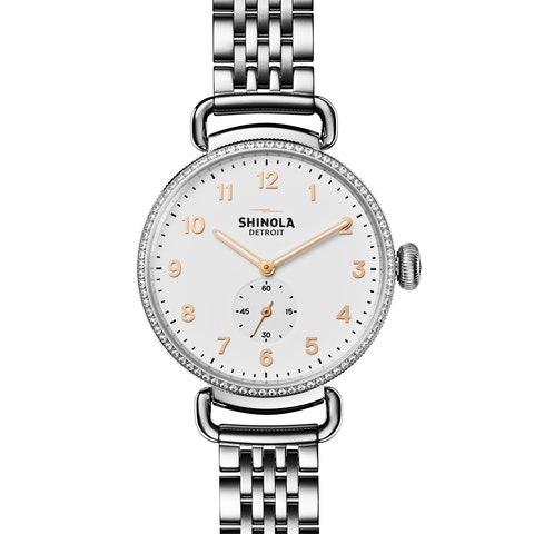 The Canfield With Diamonds 38mm