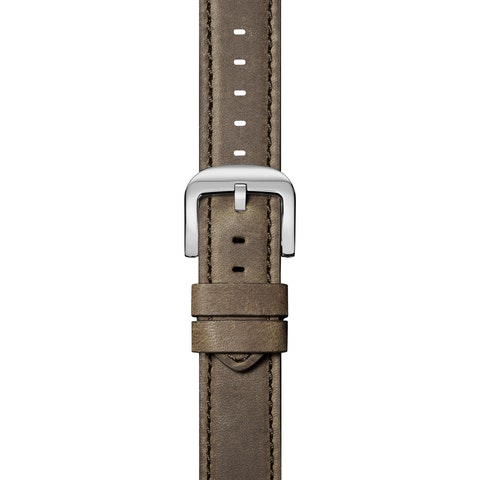 24mm Stone Leather Strap