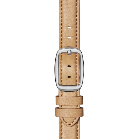 12mm Natural Leather Strap