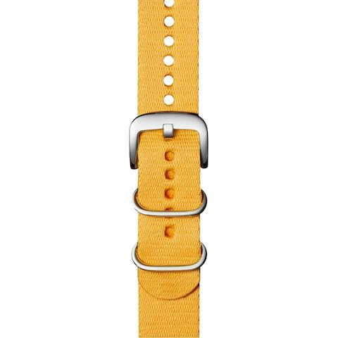 20mm Yellow G10 Nylon Strap