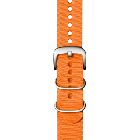 20mm Bright Orange G10 Nylon Strap