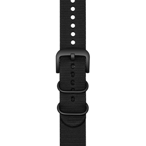 22mm Black G10 Nylon Strap
