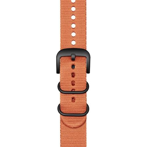 22mm Orange G10 Nylon Strap