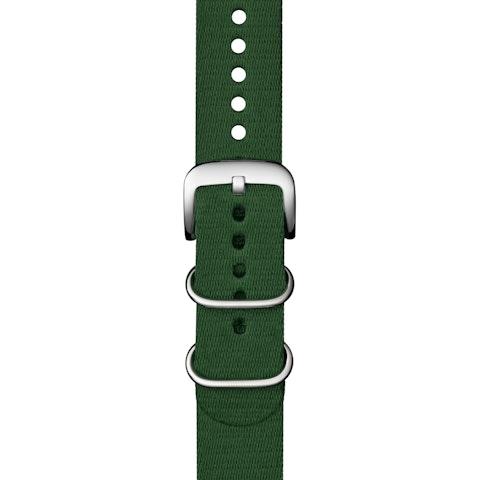 22mm Green G10 Nylon Strap