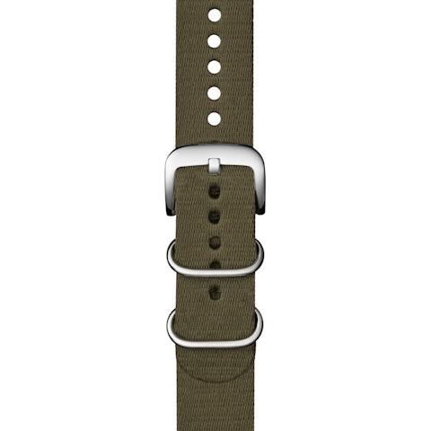 22mm Khaki G10 Nylon Strap