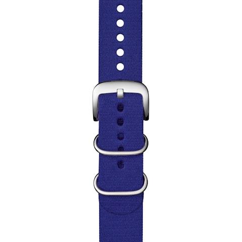 22mm Cobalt Blue G10 Nylon Strap