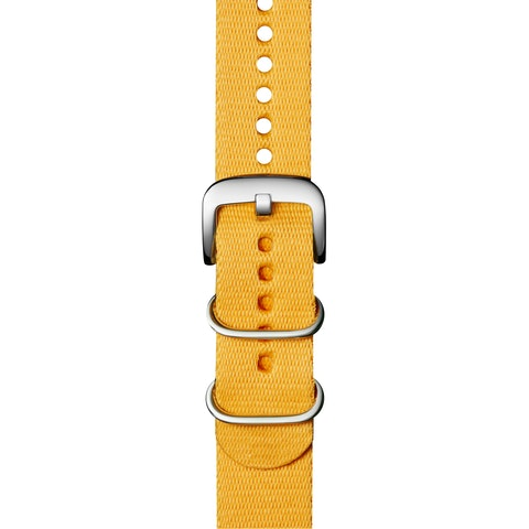 22mm Yellow G10 Nylon Strap