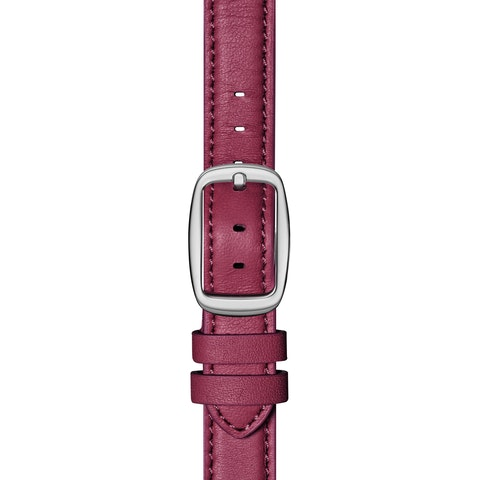 12mm Berry Leather Strap