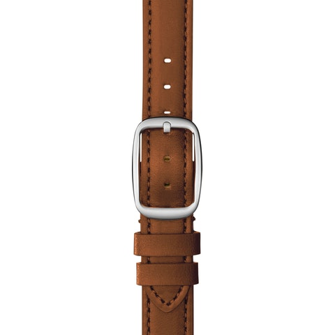 12mm Bourbon Leather Strap