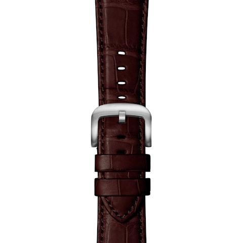 Oxblood Alligator Strap for Apple Watch