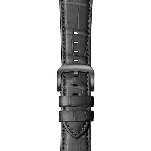Black Alligator Strap for Apple Watch