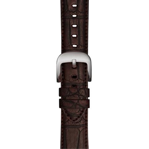 20mm Oxblood Alligator Strap for Apple Watch