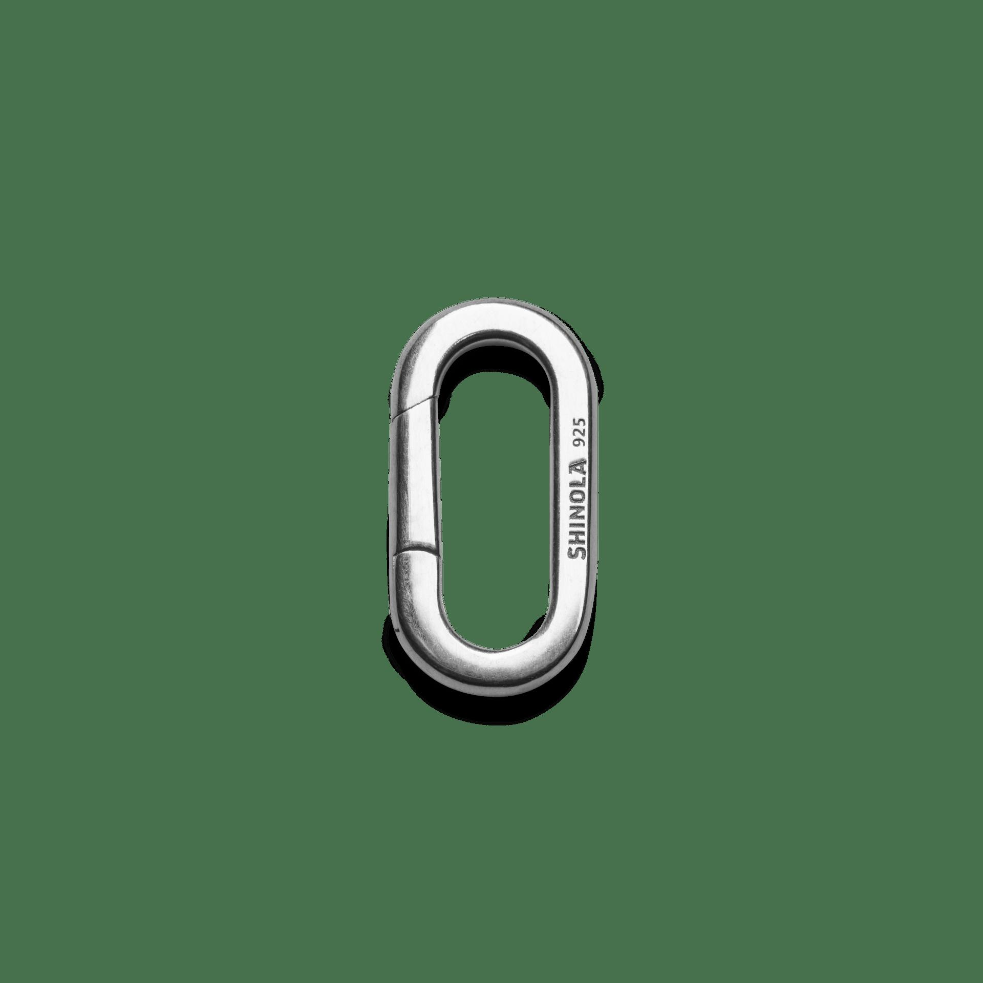 Oval Hinge Charm Clasp