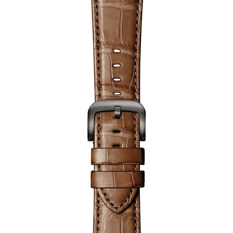 Cognac Alligator Strap for Apple Watch®