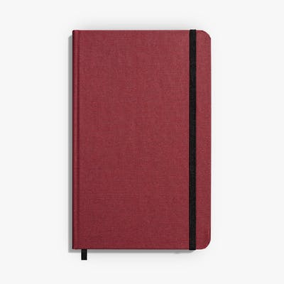 MEDIUM HARD LINEN JOURNAL