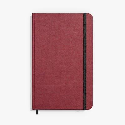 Medium Hard Linen Journal