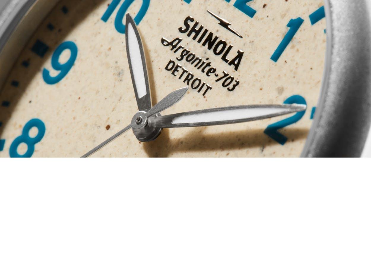Shinola Pewabic Watches