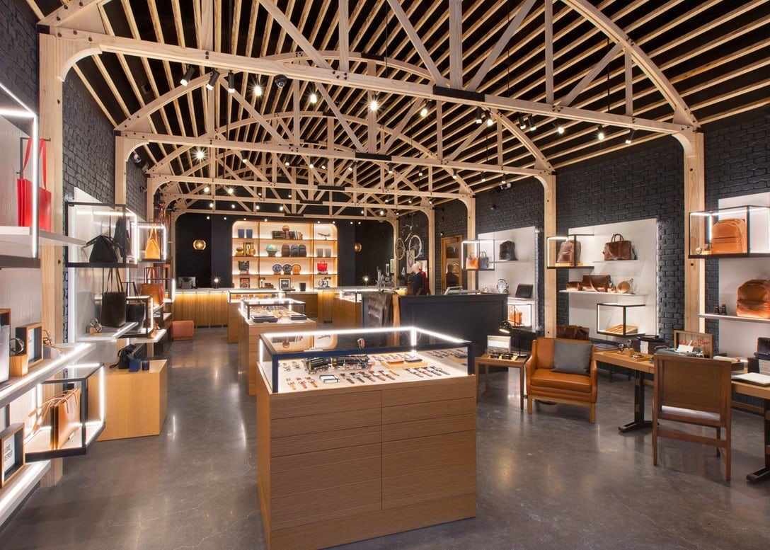 Boutique at Shinola Hotel   Woodward Store Picture