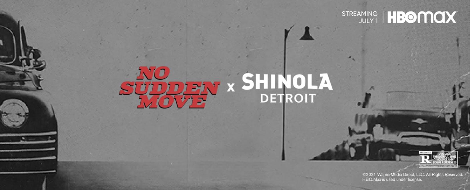 No Sudden Move x Shinola Detroit
