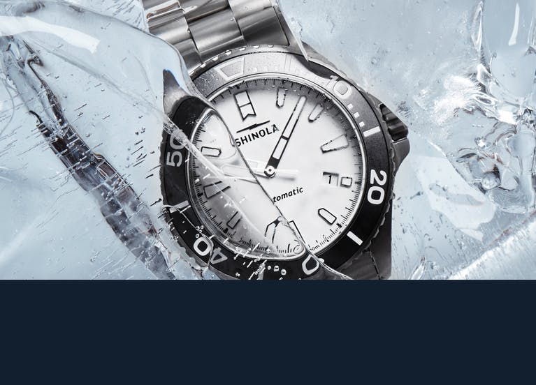 The Shinola Ice Monster Watch