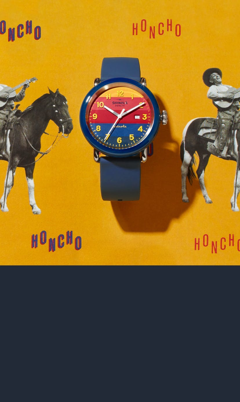 Honcho. Detrola by Shinola. Introducing the Honcho.