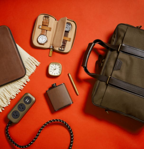 Collection of Shinola men's products