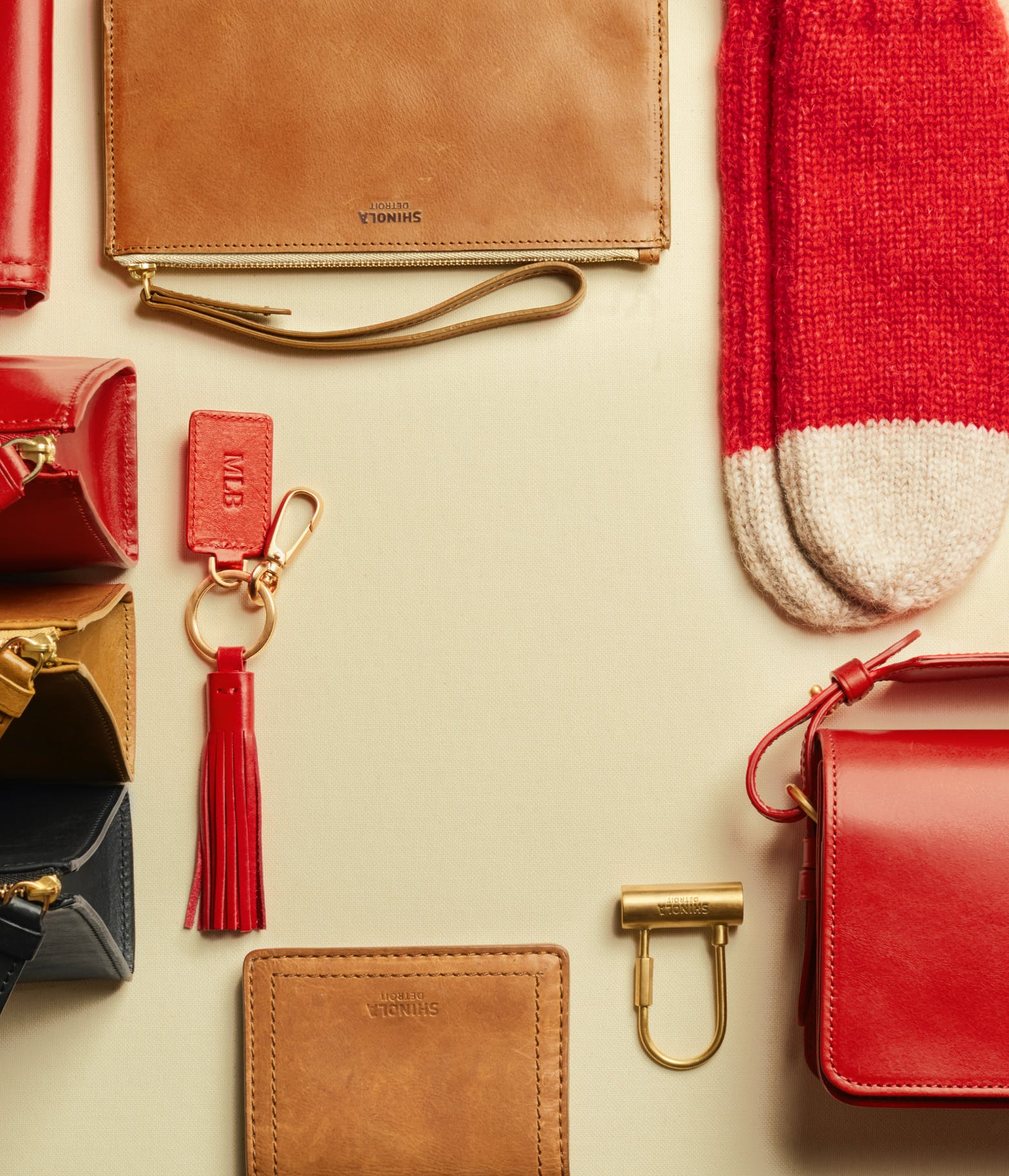 Collection of Shinola women's products