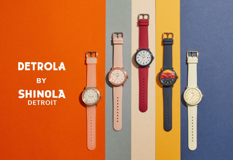 Collection of Detrola watches