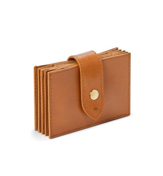 accordion card case